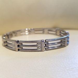 FWJ Men's Stainless Steel Bracelet